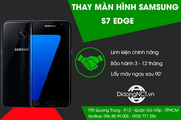 Thay màn hình Samsung S7 Edge