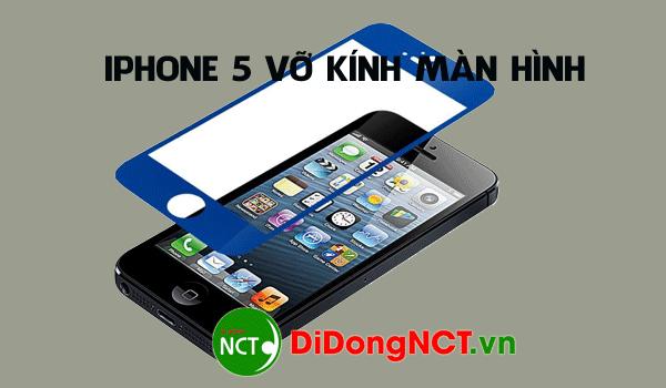 Điện thoại iphone 5 bị vỡ bể màn hình