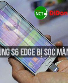 Samsung S6 Edge bị sọc màn hình