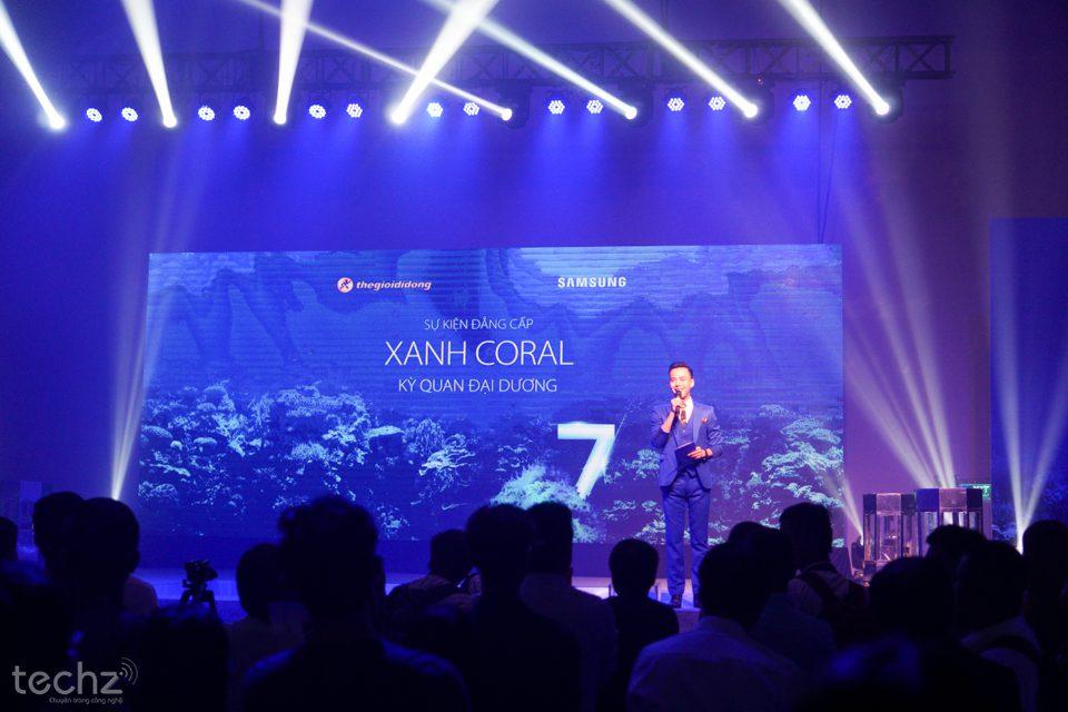 Samsung Galaxy S7 Edge Blue Coral chính thức mở bán tại Việt Nam