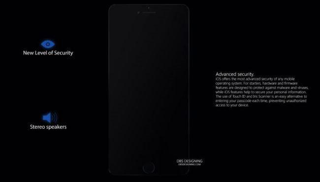 Y tuong iPhone SE 2017 man hinh 5,2 inch khong vien hinh anh 2