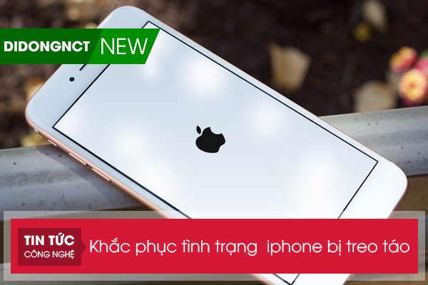 Khắc phục tình trạng Iphone bị treo táo