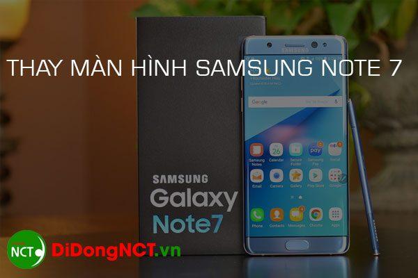Thay màn hình Samsung note 7 giá bao nhiêu