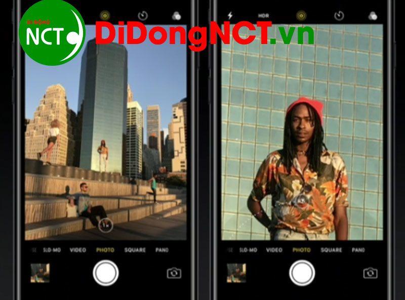 sử dụng zoom quang học trên iphone 7 plus