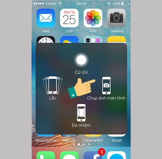 Chup man hinh iPhone 2