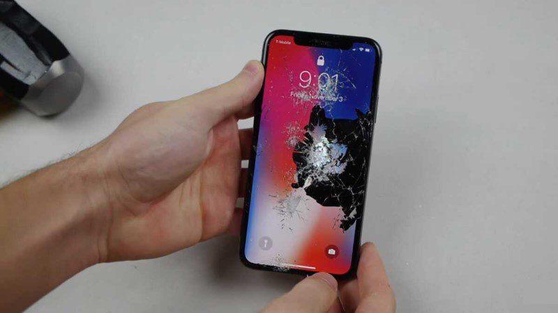 Mặt kính iPhone bị nứt vỡ nhưng cảm ứng vẫn sử dụng được