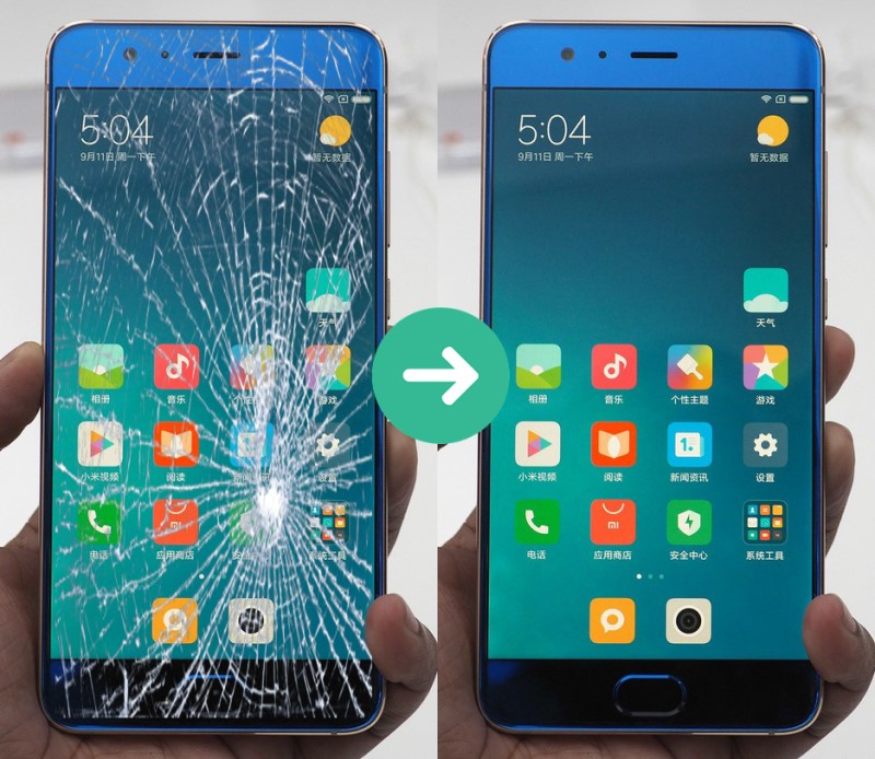 Thay màn hình Xiaomi chuẩn